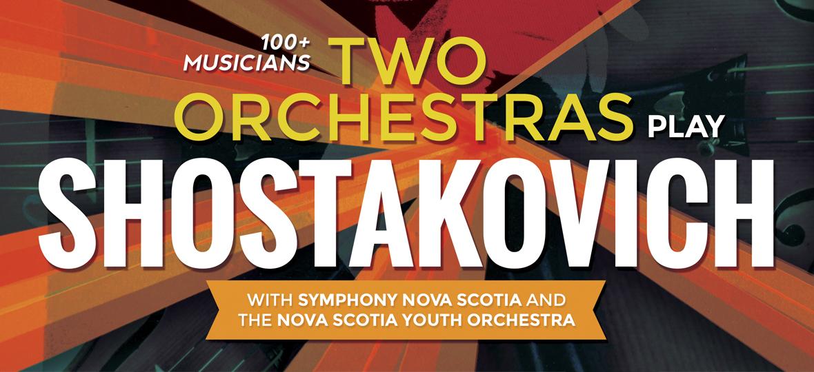 Two Orchestras Play Shostakovich